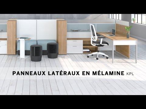 Vidéo d'installation 3 - Panneaux latéraux en mélamine