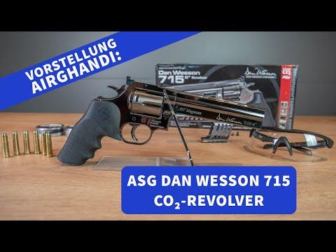 airghandi: Dan Wesson 715 Sechs-Zoll-CO2-Revolver: Die freie Waffe in 4,5 mm im AirGhandi-Test mit Video