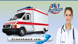 Take Top Class Road Ambulance Service in Hazaribagh and Bokaro by Medivic