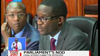 The Justice and Legal Affairs committee cautions Judiciary from interfering with ballot papers