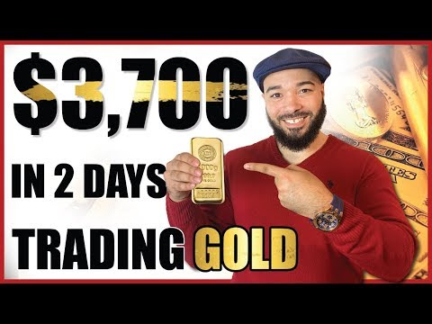 How I Made ,700 In 2 Days Trading Gold