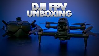 DJI Have Changed The FPV Game - DJI FPV Drone & Goggles V2 Unboxing |