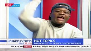 Manu Dibango dies at 66, Kenny Rogers dies at 81 et al | Hot Topics | 2