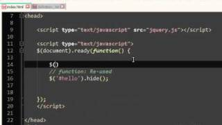 Learn JQuery Tutorial 3   Functions