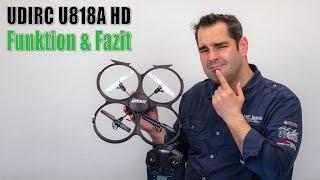 UdiRC U818A HD #05 - Funktionen und Fazit