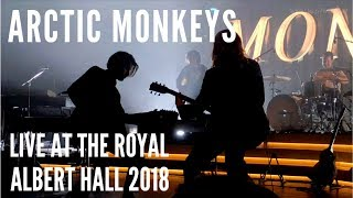 Arctic Monkeys Live at the Royal Albert Hall 2018 (4K) and early 2006