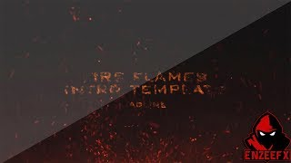 Fire Flames Intro Template for After Effects CS6 CC