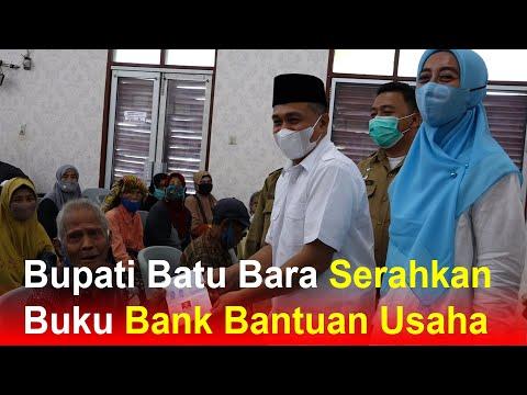 Bupati Batu Bara Serahkan Buku Bank Bantuan Usaha