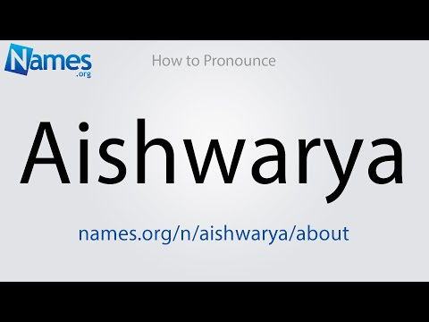 What Does The Name Aishwarya Mean Her name is aishwarya from the birth only. what does the name aishwarya mean