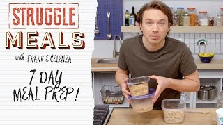 Meal Prepping For the Whole Family | Struggle Meals