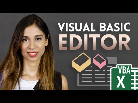 Excel VBA tutorial for beginners: The Visual Basic Editor (VBE)