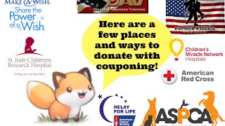 Making your Doantion Count: Where and What to Donate