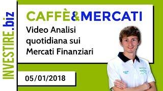 Ritorna la Rubrica Caffè&Mercati con Riccardo Zago