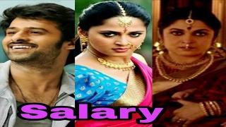 Baahubali 2 Actors Salary | Prabhas Salary | Anushka Shetty Salary DevaSena | Baahubali Earning |