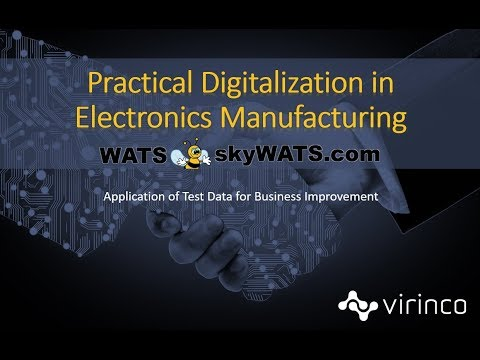 WATS - Test Data Management for Electronics Manufacturing