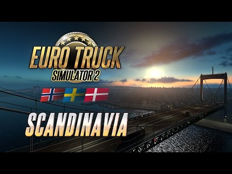 Euro Truck Simulator 2 - Scandinavia Key Steam GLOBAL - video trailer