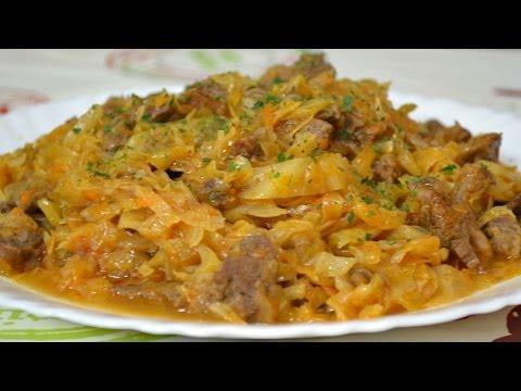 капуста с картошкой и с мясом рецепт с фото пошагово