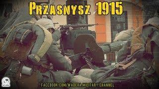 preview picture of video 'Przasnysz 1915 - Inscenizacja bitwy lutowej (16.02.2014) WW1 Reenactment'