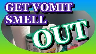 GET VOMIT SMELL OUT & Vomit Cleaning Hacks Every Parent Should Know!
