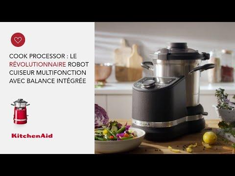 Musique pub KitchenAid Cook Processor : le révolutionnaire robot cuiseur multifonction avec balance intégrée    Juin 2021