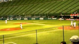 村田透-庄田隆弘2010年プロ野球12球団合同トライアウト@西武ドーム