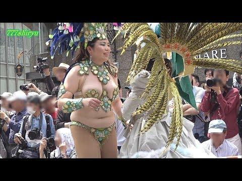 【神戸まつり2017】サンバ高画質No.04日伯協会神戸ブラジル協会★神戸港開港150周年記念Kobe Festival Samba Dancing Queen