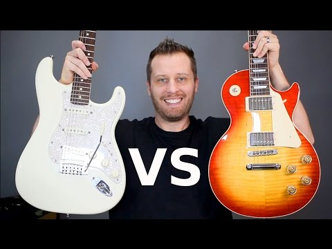 LES PAUL vs STRATOCASTER – Which Guitar is Right for You?