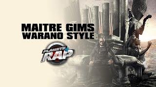 Maître Gims inédit 'Warano-Style' en live dans Planète Rap