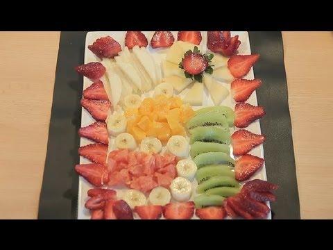 Cómo preparar un plato combinado de frutas de estación : Ideas para el Brunch