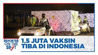 1,5 Juta Vaksin Astra Zeneca Jalur Multilateral Tiba di Bandara Soekarno-Hatta