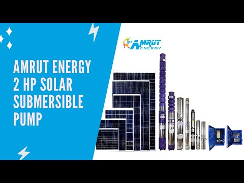 Solar System for Submersible Pump