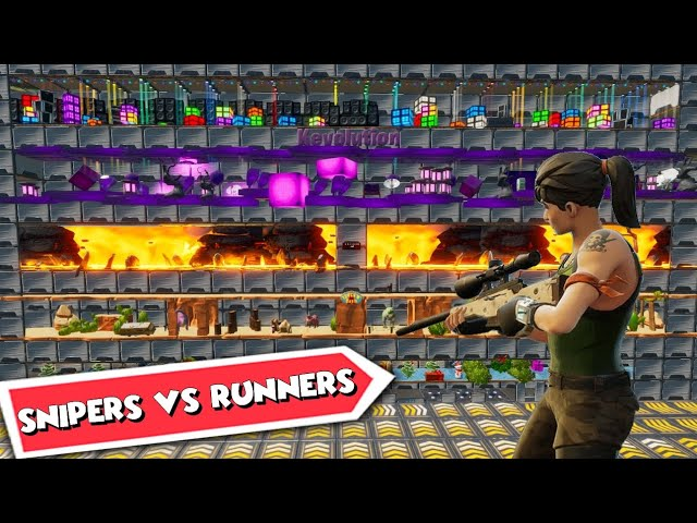 SNIPER VS RUNNERS - LES 5 UNIVERS