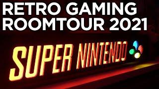 ENDLICH! Meine Retro Gaming Roomtour 2021