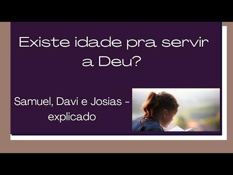 Existe idade pra servi a Deus? Samuel, Davi e Josias explicado #ensinobblicoeorao #ensinodabiblia