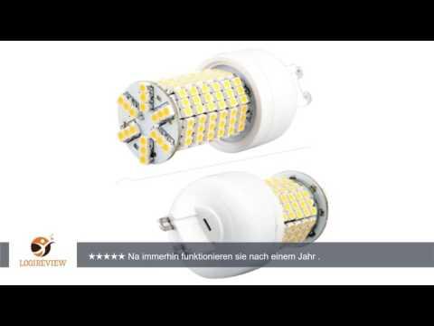 G9 144 3528 SMD LED Lampe Strahler Leuchte Leuchtmittel Warmweiß 230V 3600K neu |