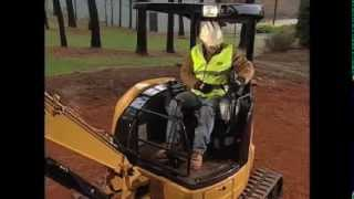 Basic Operations - Cat® Mini Hydraulic Excavator