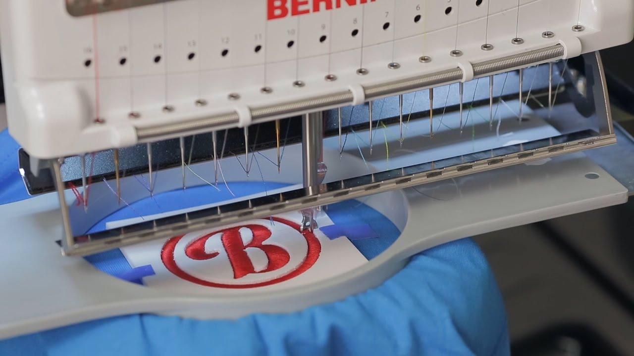 BERNINA E 16 Tutorial: Puffy Foam 3D Effect