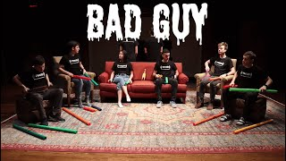 Bad Guy on Boomwhackers!