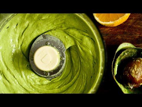 Video Easy Avocado Lime Salad Dressing (Healthy, Oil-Free, Vegan, RawTill4)
