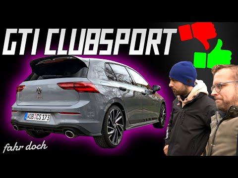 VAG-Experte bewertet den neuen VW GOLF 8 GTI Clubsport | Fahr doch