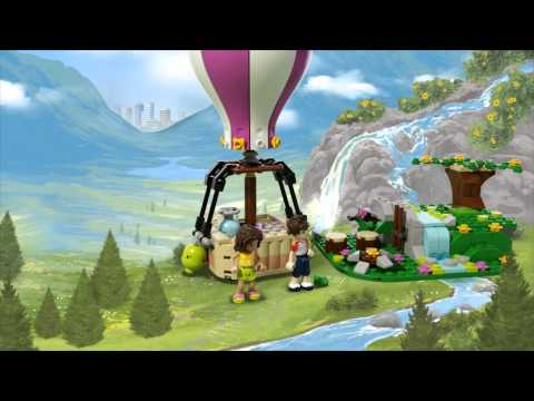 Vidéo LEGO Friends 41097 : La montgolfière d'Heartlake City