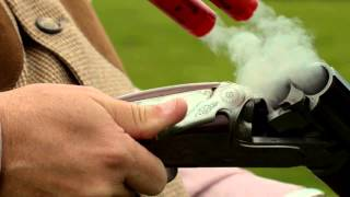 Slow Motion Clay Pigeon Shooting At Holland & Holland