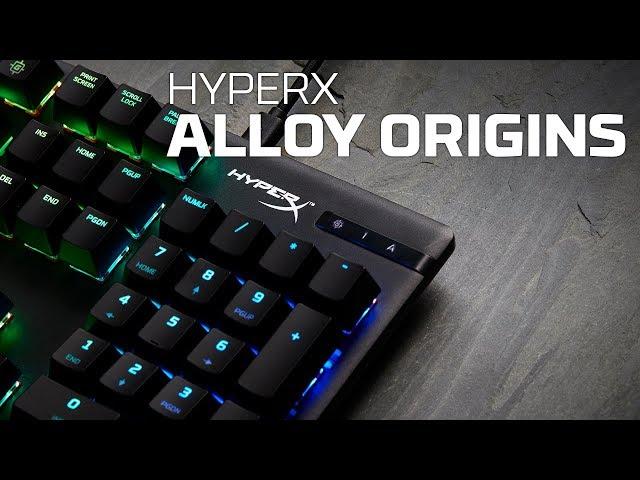 HyperX Alloy Origins Core tenkeyless gamingtastatur Mus og