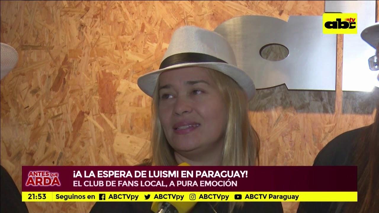 Fans aguardan a Luis Miguel en Paraguay