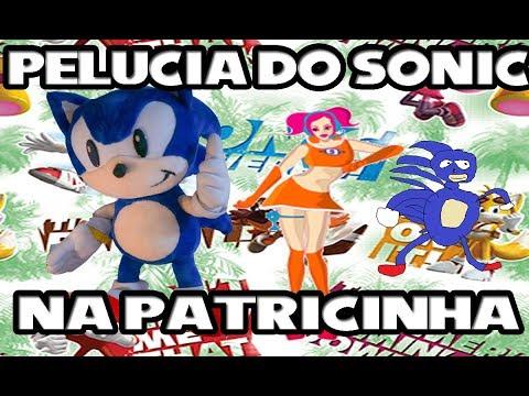 Pelúcia do Sonic na Patricinha de Arapongas Venham Comprar!