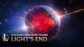Galaxies 2020 : Le déclin de la lumière