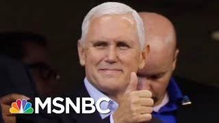 Mike Pence Thinks He's #Winning On The NFL Kneeling Issue | All In | MSNBC - Video Youtube