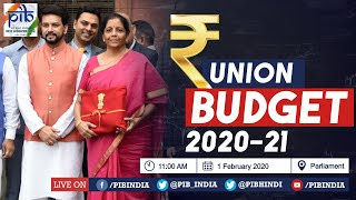 Union Budget 2020-21: Live from Parliament