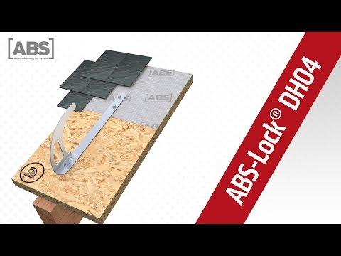 Kompakte Video-Präsentation zum Sicherheitsdachhaken ABS-Lock DH04-F.