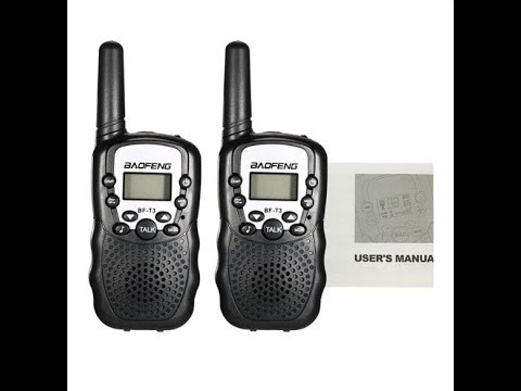Baofeng BF-T3 Radio Walkie Talkie UHF462-467MHz 8 Channel Radio Transceiver